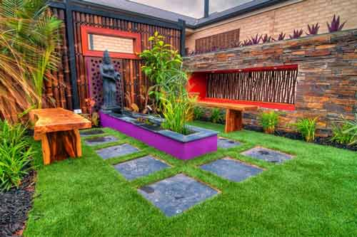 Synthetic Grass for garden Wantirna