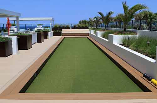 Synthetic Grass for hotels